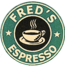 freds coffee logo